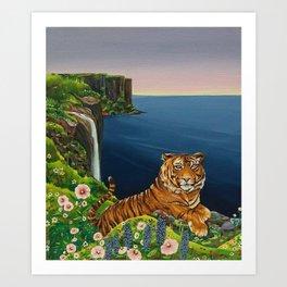 Tigresa Art Print