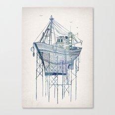 Dry Dock I Canvas Print