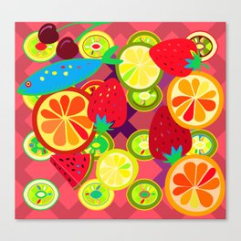 Tutti Fruity Canvas Print