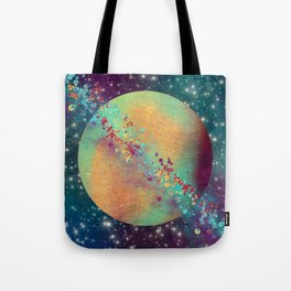 Color Planet Tote Bag