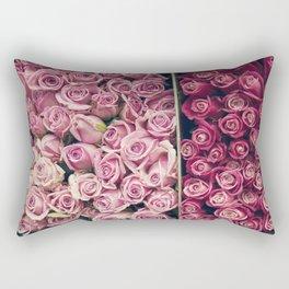 Flower Market Colorblock Rectangular Pillow
