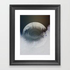 Forest lullaby Framed Art Print