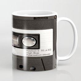 Cassette Tape Black And White #decor #society6 #buyart Coffee Mug