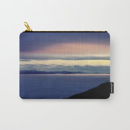Cloudsea and Sunset over Switzerland from Mont de Baulme Carry-All Pouch