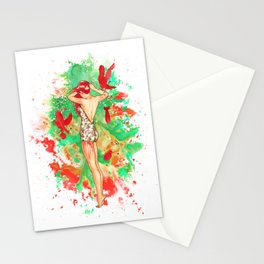 Praying For A Riot Stationery Cards