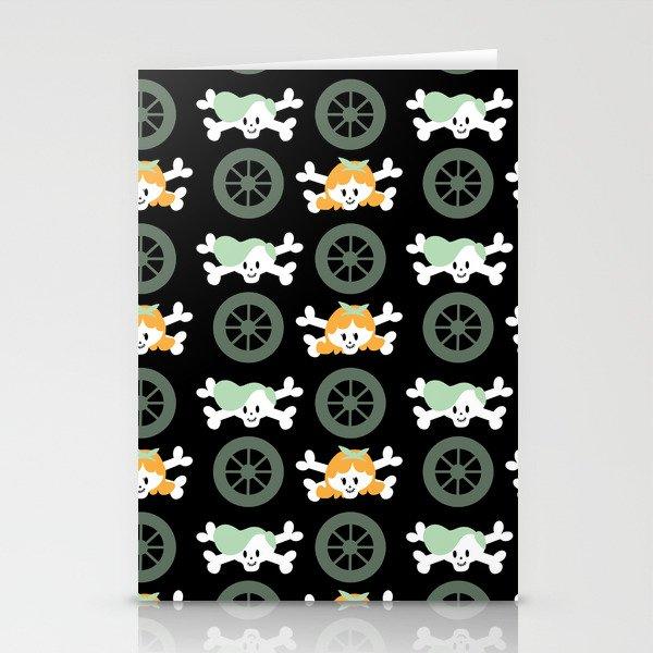 Teen skulls Stationery Cards