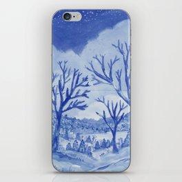 Blue day iPhone Skin