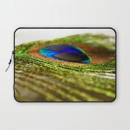 Shimmering Peacock Laptop Sleeve