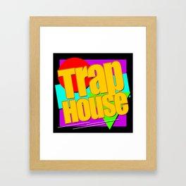 Trap House Square Logo Framed Art Print