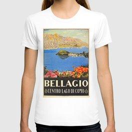 Italy Bellagio Lake Como T-shirt