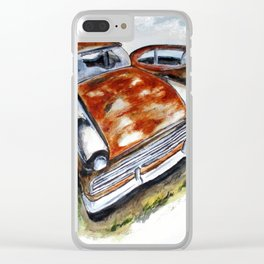 Junk Car No. 10 Clear iPhone Case
