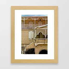 Frederiksted detail, St. Croix, USVI Framed Art Print