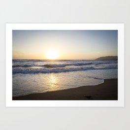 A Southern California Spring Sunset Art Print