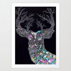Bright Lights Art Print