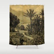 The Gardeners' Chronicle 1874 Shower Curtain