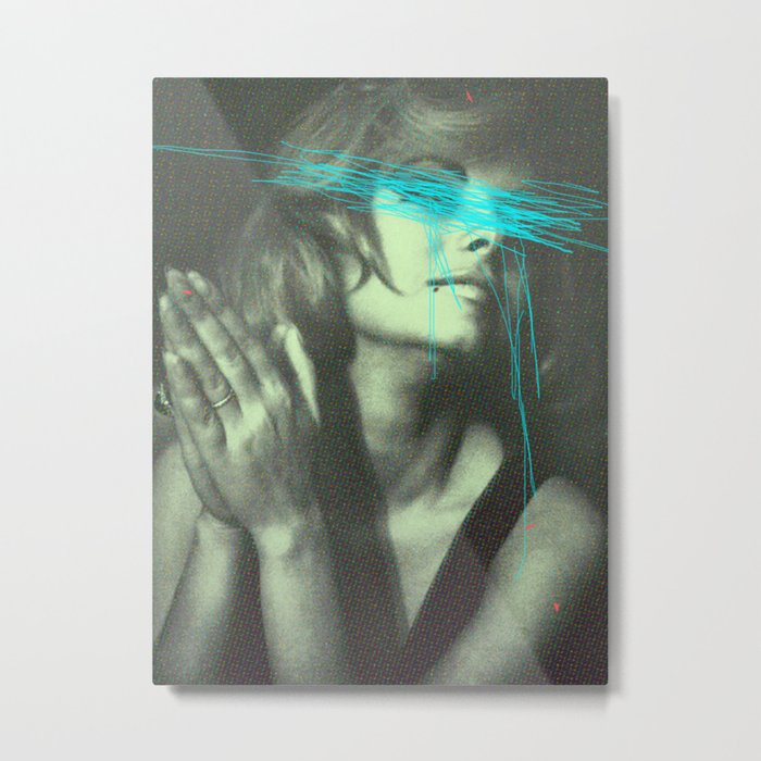 Untitled Woman Metal Print