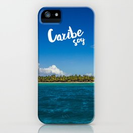 Caribe Soy iPhone Case
