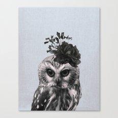 Portrait of Owl Canvas Print