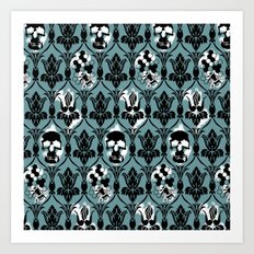 Sherlock Pattern  Art Print