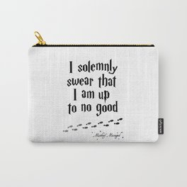 Up To No Good Carry-All Pouch
