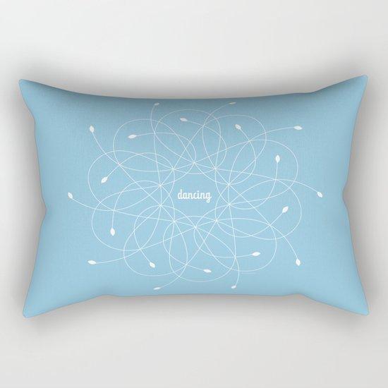 Ornament – dancing Rectangular Pillow