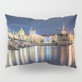 Charle's Bridge at Night Pillow Sham