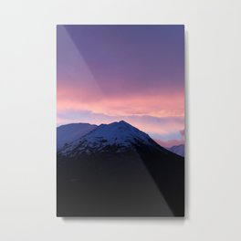 Pink and Purple Sunrise Metal Print
