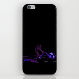 Confined Space - 3D Variant iPhone Skin
