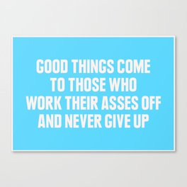 Good Things Canvas Print