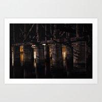 Under The Bridge // 3 Art Print
