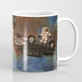 Truck in Space Coffee Mug