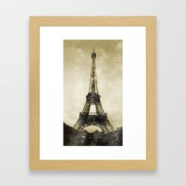 Paris Flea Market Framed Art Print