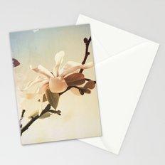 Spring Botanical Magnolia stellata Stationery Cards