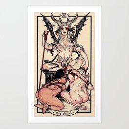 The Devil Art Print