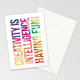 Creativity  Stationery Cards