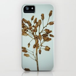 Winter Skeletons II iPhone Case