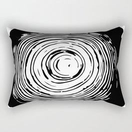Tree Rings Rectangular Pillow