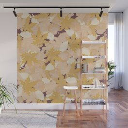 Muted Fall #society6 #fall Wall Mural