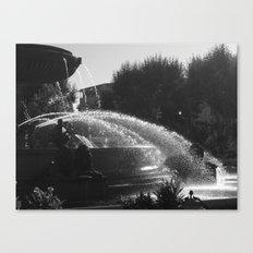 la fontaine de jouvence Canvas Print
