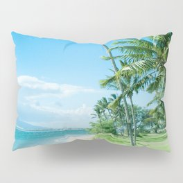 Waipuilani Beach Kīhei Maui Hawaii Pillow Sham