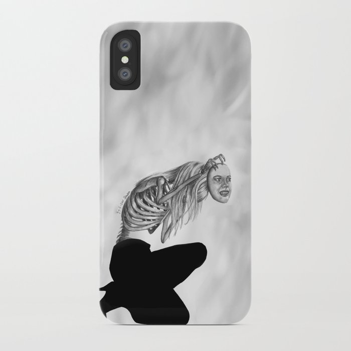 when masks fall iPhone Case