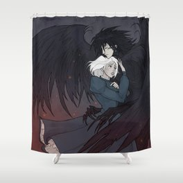 Howl and Sophie Shower Curtain