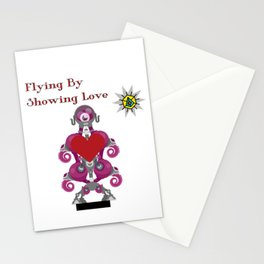 Flying By Showing Love Stationery Cards