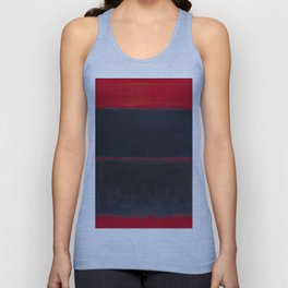 1957 Light Red Over Black by Mark Rothko HD Unisex Tank Top