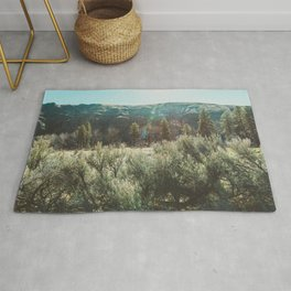 In the Sage - Desert Nature Photography Rug