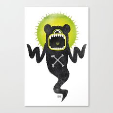 SALVAJEANIMAL ghost Canvas Print
