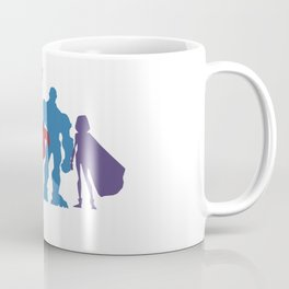 [ Teen Titans ] Robin, Starfire, Raven, Beast Boy and Cyborg Coffee Mug