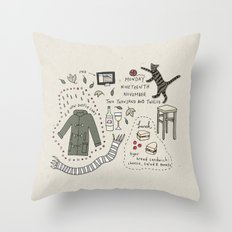 Monday Nineteeth November Throw Pillow