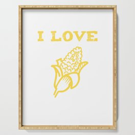 I Love Yellow Corn, Got Corn, Corn On The Cob, Vegetable Serving Tray