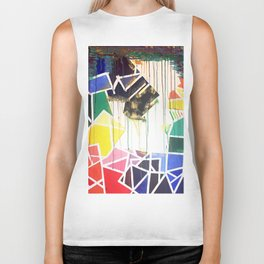 Color Theory Biker Tank